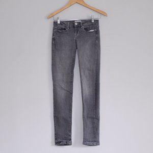 Aeropostale Gray Skinny Jean Pants Sz 00R